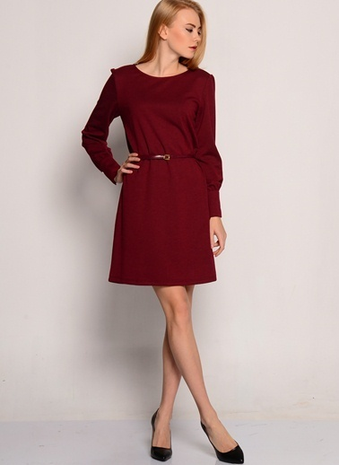 Fresh Company Elbise Bordo